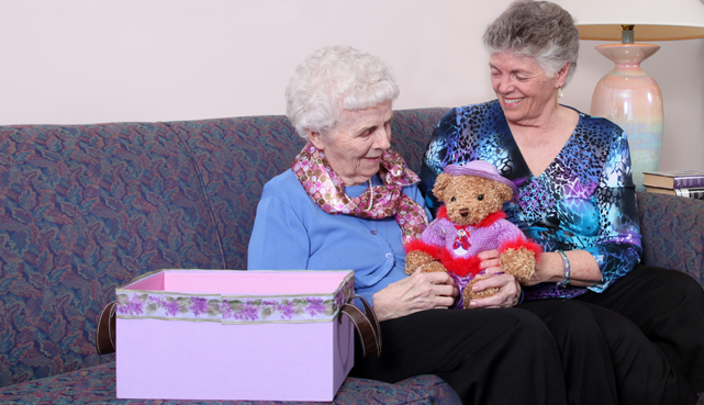 Make new friends among Luther Woods convalescent home residents