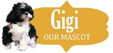 Gigi the Shih Tzu, Luther Woods Mascot